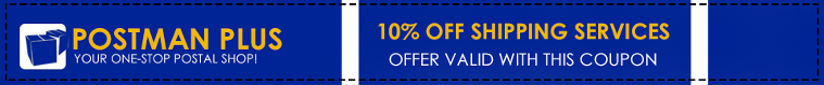 10% Off Shipping Services - Offer Valid With This Coupon